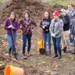 Volunteers at Green Tacoma Day - Julia's Gulch